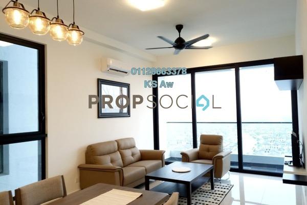 For Rent Condominium at Eco Nest, Iskandar Puteri (Nusajaya) Freehold Fully Furnished 3R/2B 3.8k