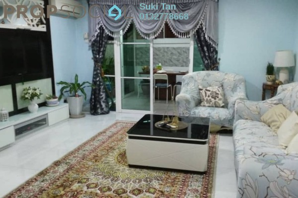 For Sale Townhouse at Desa Alpha, Jalan Ipoh Freehold Semi Furnished 3R/2B 650k