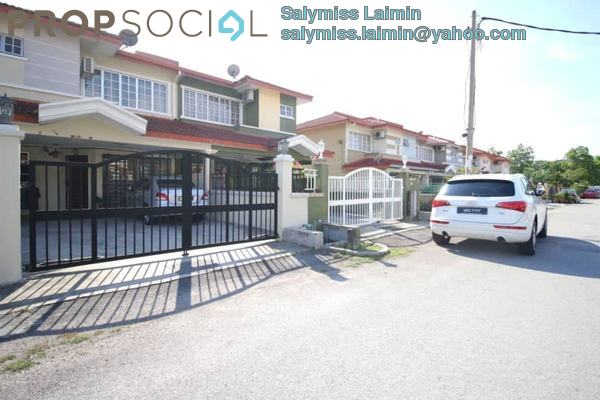 For Sale Terrace at Segar View, Cheras Freehold Semi Furnished 4R/3B 599k