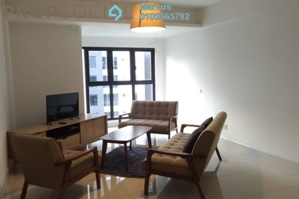 For Rent Condominium at Royalle Condominium, Segambut Freehold Fully Furnished 2R/3B 2.2k