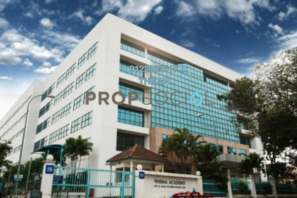 For Rent Office at Wisma Academy, Petaling Jaya Freehold Semi Furnished 0R/0B 9.6k