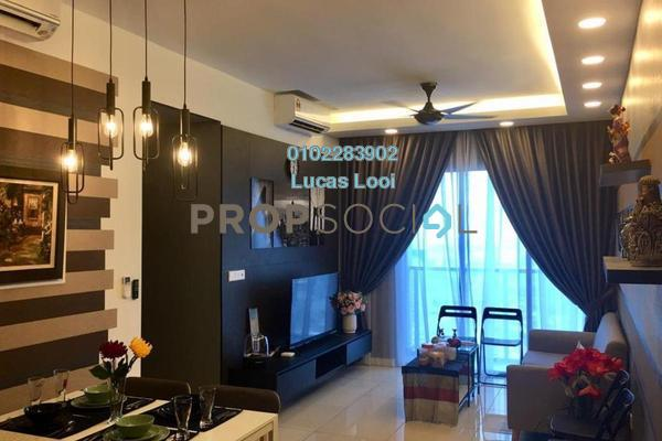 For Rent Serviced Residence at Sunway Geo Residences 2, Bandar Sunway Freehold Fully Furnished 3R/2B 4.1k