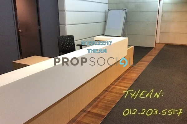 For Rent Office at Bangunan Palm Grove, Shah Alam Freehold Fully Furnished 0R/0B 33k