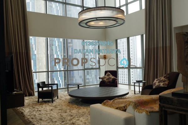 For Rent Condominium at The Meritz, KLCC Freehold Fully Furnished 6R/4B 15k