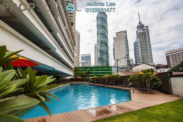 For Sale Condominium at Idaman Residence, KLCC Freehold Semi Furnished 2R/2B 729k