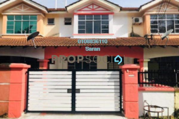 For Sale Terrace at Taman Pulai Indah, Pulai Freehold Unfurnished 4R/3B 420k
