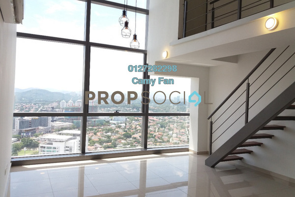 For Rent SoHo/Studio at Pinnacle, Petaling Jaya Freehold Semi Furnished 1R/2B 1.6k