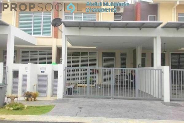 For Rent Terrace at Terezza 2, Kota Seriemas Freehold Semi Furnished 4R/3B 1.3k