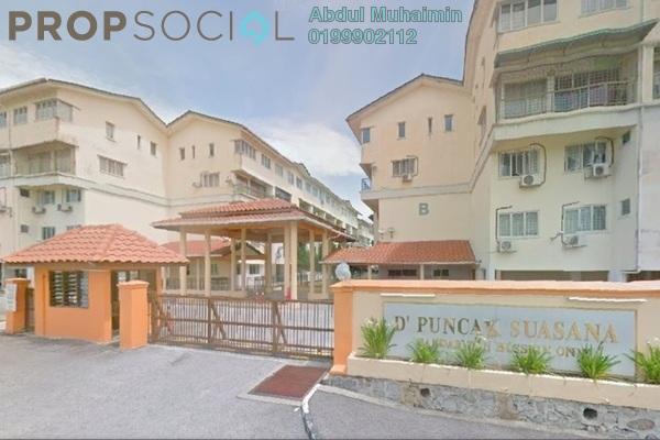 For Sale Condominium at D'Puncak Suasana, Bandar Tun Hussein Onn Freehold Semi Furnished 3R/2B 350k