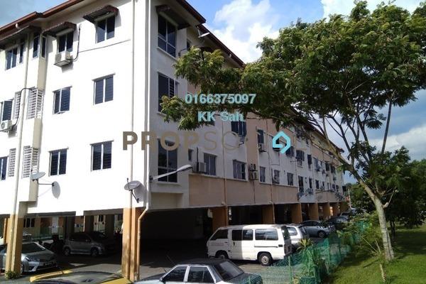 For Rent Apartment at Section 1, Bandar Mahkota Cheras Freehold Semi Furnished 3R/2B 900translationmissing:en.pricing.unit
