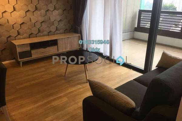 For Rent Serviced Residence at Arcoris, Mont Kiara Freehold Fully Furnished 2R/2B 4k