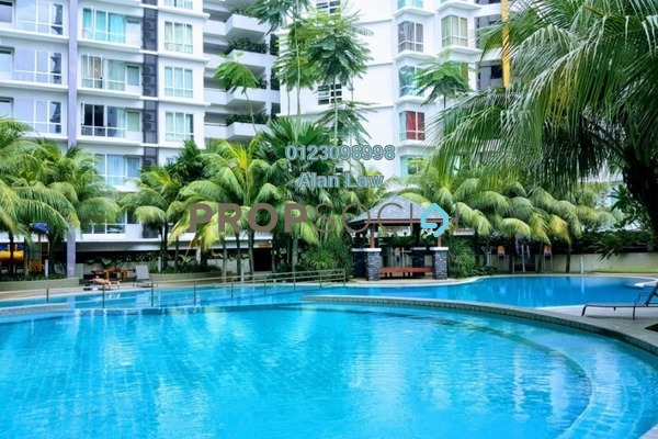 For Rent Serviced Residence at Tiara Mutiara, Old Klang Road Freehold Semi Furnished 3R/2B 1.3k