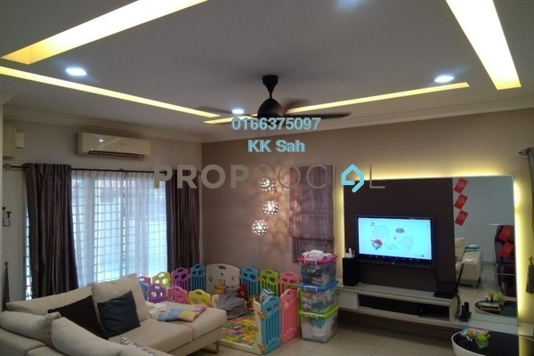 For Sale Superlink at Taman Sri Putra, Sungai Buloh Freehold Fully Furnished 4R/3B 860k