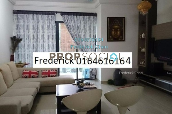 For Rent Condominium at Gardenview Residence, Cyberjaya Freehold Fully Furnished 3R/2B 2.6k