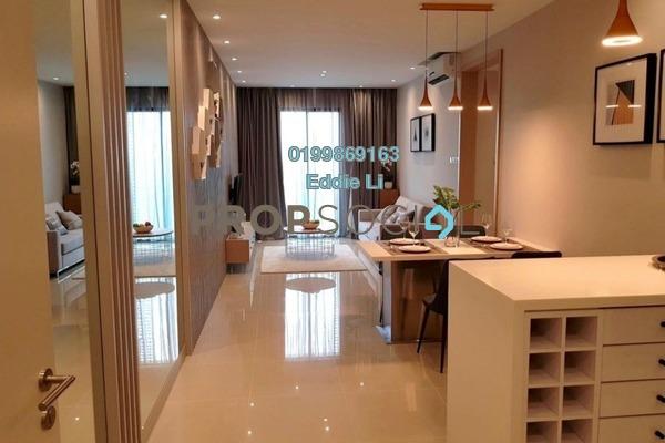For Sale Serviced Residence at Danau Kota Suite Apartments, Setapak Freehold Unfurnished 3R/2B 446k