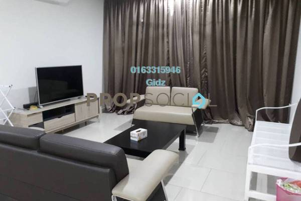 For Rent Condominium at The Reach @ Titiwangsa, Setapak Freehold Fully Furnished 3R/3B 3.2k