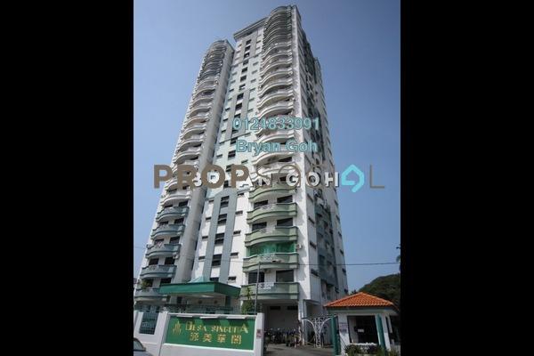 For Rent Apartment at Desa Singora, Georgetown Freehold Unfurnished 3R/2B 1k