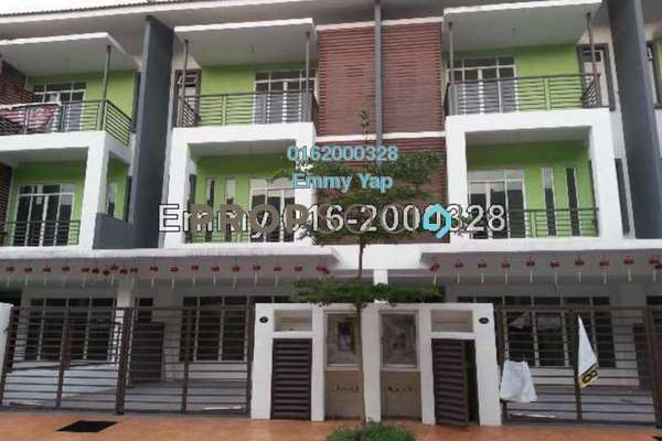 For Sale Terrace at Surian Tropika Homes, Bandar Sungai Long Freehold Unfurnished 6R/6B 880k