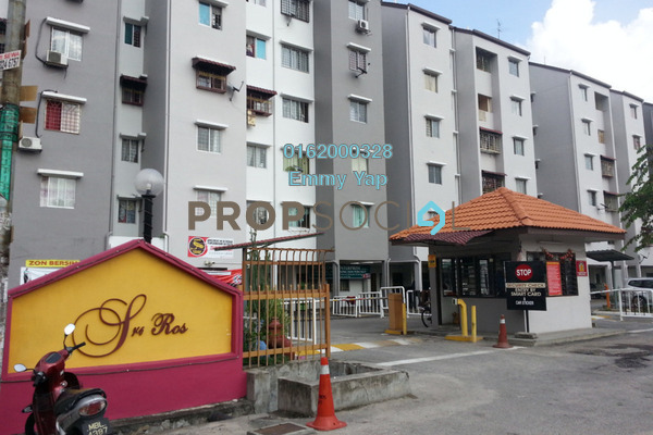 For Sale Apartment at Sri Ros, Kajang Freehold Unfurnished 3R/2B 168k