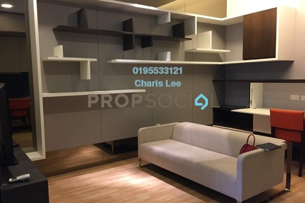 For Sale Serviced Residence at VERVE Suites, Mont Kiara Freehold Fully Furnished 1R/1B 550k