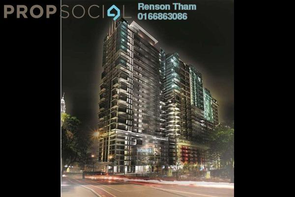 For Sale Condominium at Sunway Geo Residences 2, Bandar Sunway Freehold Semi Furnished 2R/1B 480k