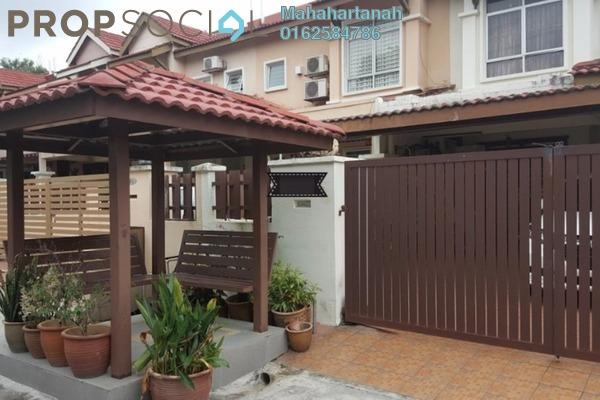 For Sale Terrace at Taman Kajang Prima, Kajang Freehold Semi Furnished 5R/4B 555k
