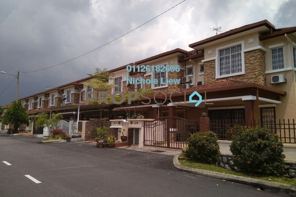 For Sale Superlink at Cheras Vista, Bandar Mahkota Cheras Freehold Semi Furnished 4R/3B 728k