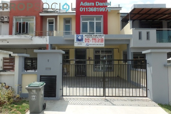 For Sale Terrace at Taman Sierra Perdana, Masai Freehold Unfurnished 4R/3B 405k