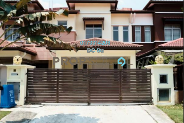 For Sale Terrace at Canal Gardens, Kota Kemuning Freehold Semi Furnished 5R/4B 1.05m
