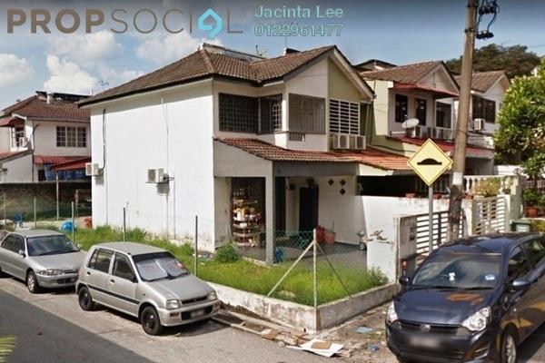 For Sale Terrace at Taman Mutiara Timur, Cheras Freehold Semi Furnished 2R/2B 527k