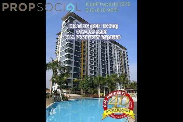 For Rent Condominium at Rivervale Condominium, Kuching Freehold Fully Furnished 3R/2B 2.8k