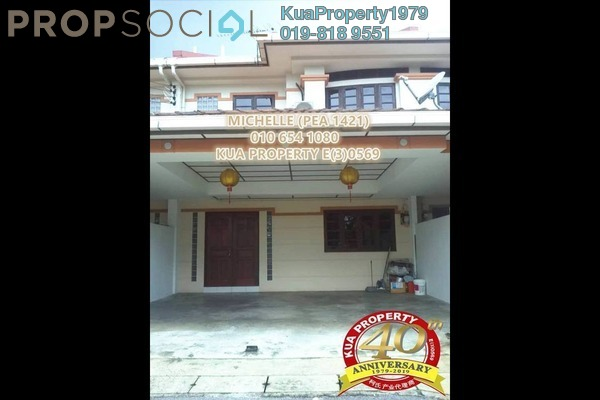 For Rent Terrace at Tabuan Heights, Kuching Freehold Unfurnished 4R/3B 1.5k