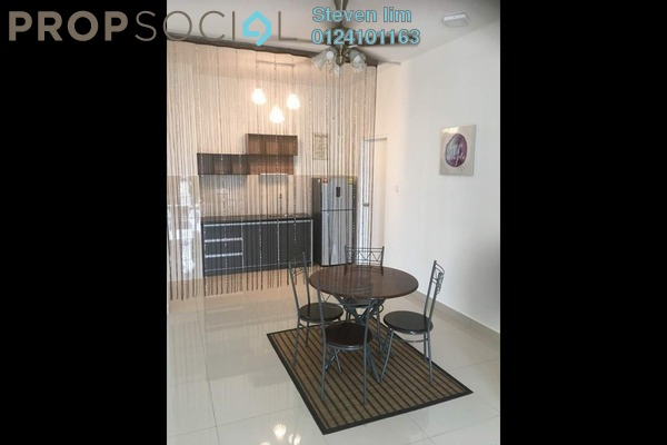 For Rent Condominium at Ceria Residences, Cyberjaya Freehold Fully Furnished 3R/2B 1.8k