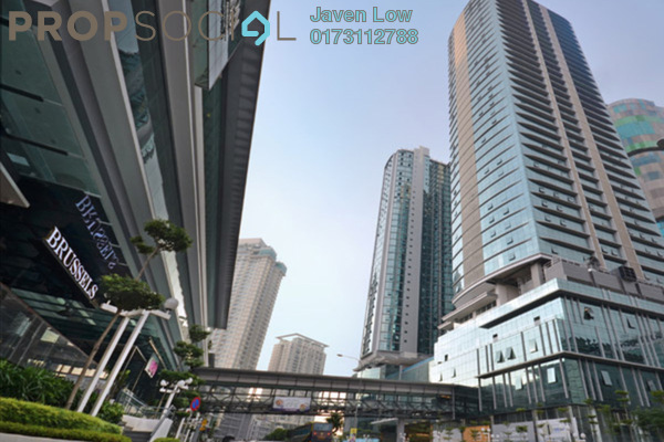 For Sale Office at The Vertical, Bangsar South Freehold Semi Furnished 0R/1B 2.6m