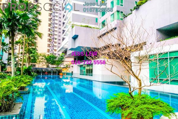 For Rent Condominium at Verticas Residensi, Bukit Ceylon Freehold Fully Furnished 2R/2B 5k