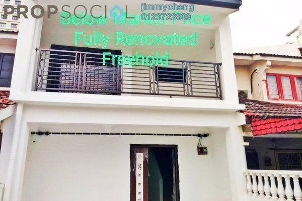 For Sale Terrace at Taman Wawasan, Pusat Bandar Puchong Freehold Semi Furnished 4R/3B 645k