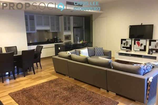 For Rent Condominium at St Mary Residences, KLCC Freehold Fully Furnished 2R/2B 7k