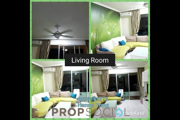 For Rent Condominium at Riana Green, Tropicana Freehold Semi Furnished 3R/2B 2k