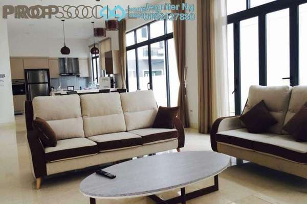 For Rent Bungalow at ForestHill Damansara, Bandar Sri Damansara Freehold Semi Furnished 5R/6B 11.5k