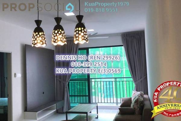 For Rent Condominium at Sapphire on the Park, Kuching Freehold Fully Furnished 2R/2B 2.2k