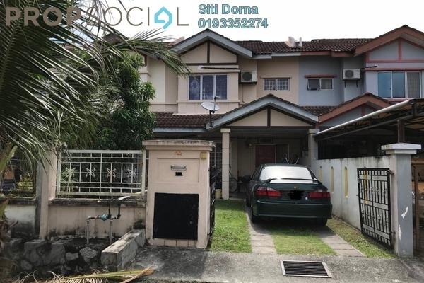 For Sale Terrace at Bandar Saujana Utama, Sungai Buloh Leasehold Unfurnished 3R/3B 380k
