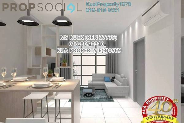 For Rent Condominium at Sapphire on the Park, Kuching Freehold Fully Furnished 2R/2B 2k