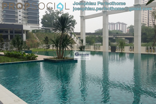 For Rent Condominium at Kiara Residence 2, Bukit Jalil Freehold Fully Furnished 3R/2B 2.4k