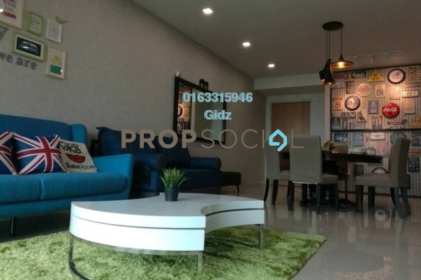 For Sale Condominium at The Reach @ Titiwangsa, Setapak Freehold Fully Furnished 3R/3B 1.1m