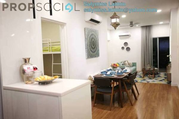 For Sale Apartment at Gombak Court, Setapak Freehold Unfurnished 3R/2B 300k