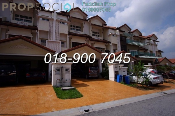 For Sale Terrace at Anjung Sari, Setia Alam Freehold Unfurnished 5R/5B 800k