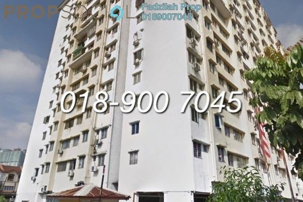 For Sale Apartment at Idaman Suria, Setapak Freehold Unfurnished 3R/2B 200k