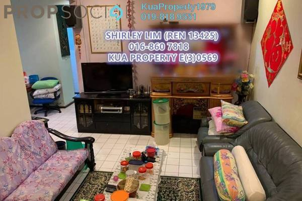 For Sale Semi-Detached at Taman Muara Tabuan, Kuching Leasehold Unfurnished 3R/2B 600k