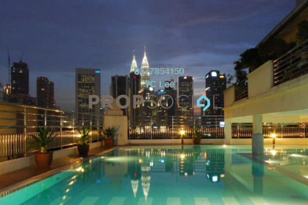 For Sale Condominium at Megan Ambassy, Ampang Hilir Freehold Unfurnished 2R/1B 441k