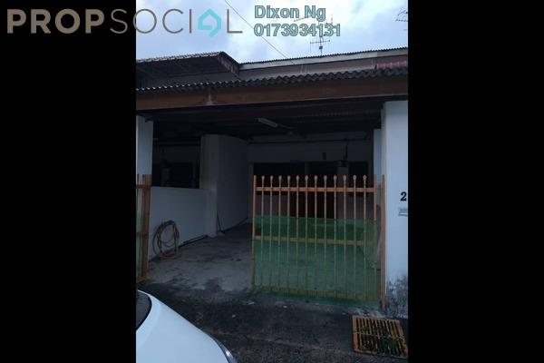 For Sale Terrace at Taman Damai Jaya, Skudai Freehold Semi Furnished 3R/1B 250k